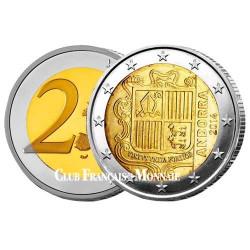 2 Euro Andorre 2014 - Première Année de l'Euro