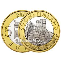 5 Euro Finlande 2015 - Uusimaa - Le hérisson