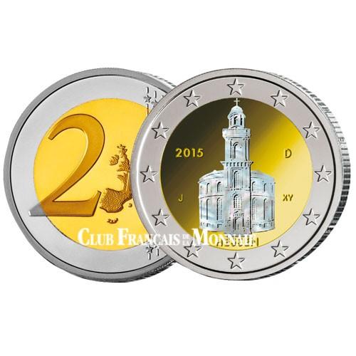 2 Euro Allemagne Hologramme 2015 -  La Hesse