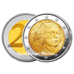 2 Euro 500 ans de la mort de Botticelli - Saint-Marin 2010