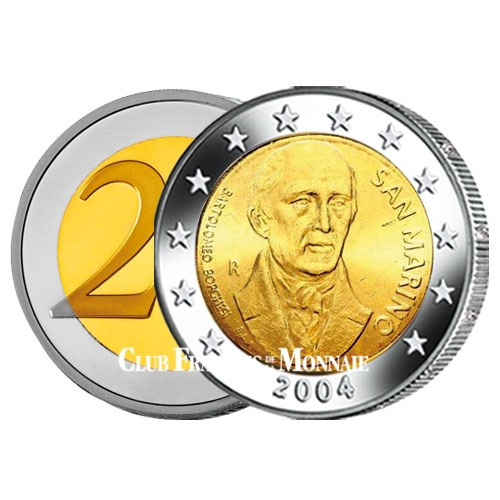 2 Euro Bartholomeo Borghesi - Saint-Marin 2004