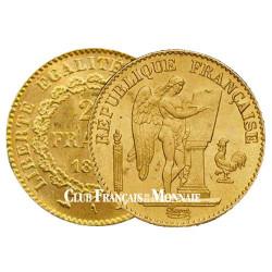 20 Francs Or Génie 1896 A - IIIe République