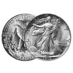 """1/2 Dollar Argent 1916-1947 - """"Liberty"""""""