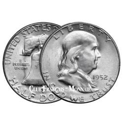 1/2 Dollar Argent 1948-1963 Benjamin Franklin