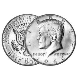 1/2 Dollar Argent 1964 - J. F. Kennedy
