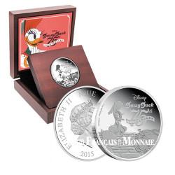 2 Dollar Argent BE 2015 - 75e anniversaire de Daisy Duck