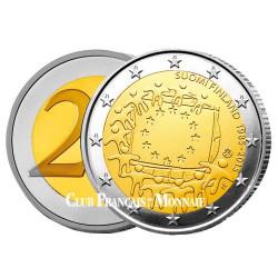 2 Euro Finlande 2015 - 30e anniversaire du drapeau européen