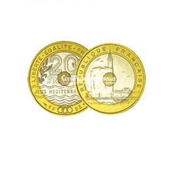 1993 - 20 Francs bicolore Jeux Méditerranéens