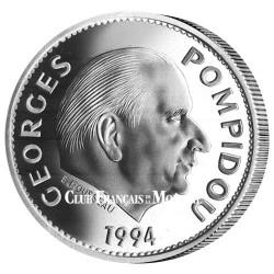Médaille Président Georges Pompidou