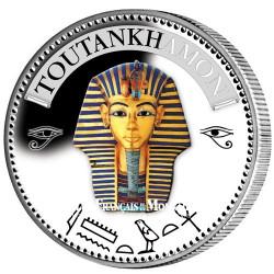 Médaille Toutankhamon colorisée