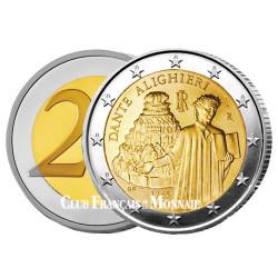 2 Euro Italie 2015 - 750 ans Dante