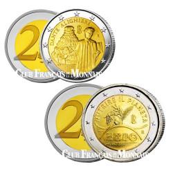 Lot de 2 Euro Italie 2015