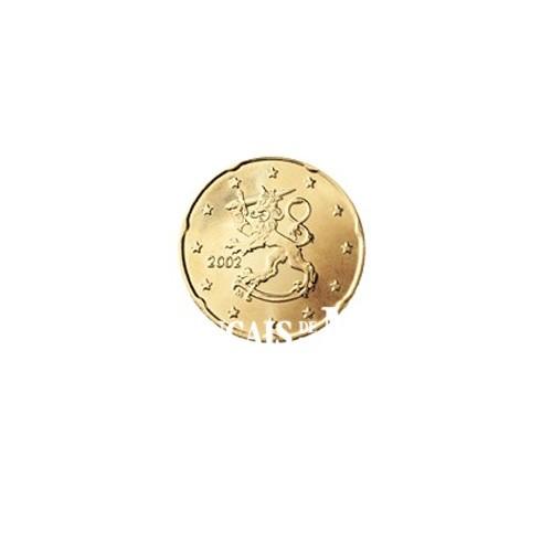 2002 - FINLANDE - 20 CENT