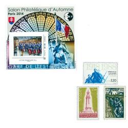 Lot de 7 timbres 1ere Guerre Mondiale
