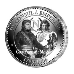 Médaille De Consul à Empereur