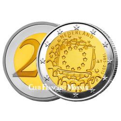 2 Euro Pays-Bas 2015 - 30e anniversaire du drapeau européen