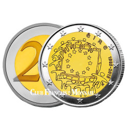 2 Euro Irlande 2015 - 30e anniversaire du drapeau européen