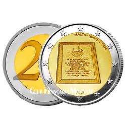 2 Euro Malte 2015 - Anniversaire de la  République maltaise