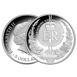 5 Dollars Argent Australie BE 2015 - Règne Elisabeth II