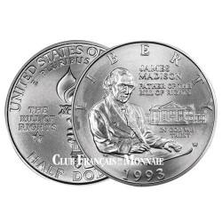 1/2 Dollar Argent 1993 - James Madison
