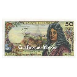 Billet de 50 Francs Racine