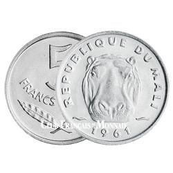 5 Francs CFA Mali 1961