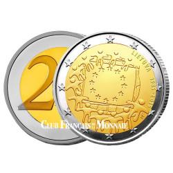 2 Euro Lituanie 2015 - 30ème anniversaire du drapeau européen