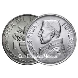 1000 Lires Argent Vatican - Jean-Paul I