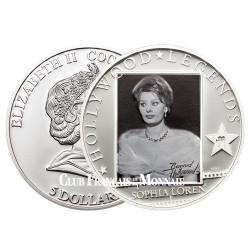 5 Dollars Argent Sophia Loren 2011