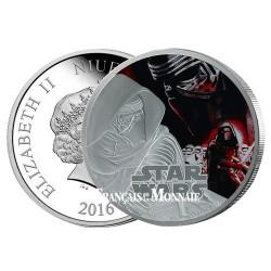 2 Dollar Argent BE 2016 - Star Wars Kylo Ren