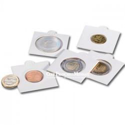 Cadres autocollants pour monnaie - Diamètre 25 mm