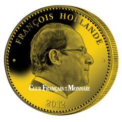 PRESIDENT - Hollande dorée à l'or fin 24 carats