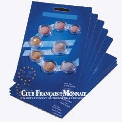 15 séries de 8 capsules Euros