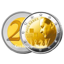 2 Euro Estonie 2016 - 100ème anniversaire de la naissance de Paul Kérès