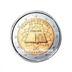 2007 - Espagne - 2 Euros commémorative 50 ans du Traité de Rome