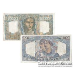 France - 1000F Minerve et Hercule neuf