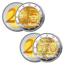 Lot 2 x 2 Euro France 2013