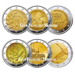 Lot des 12 x 2 Euro 2011