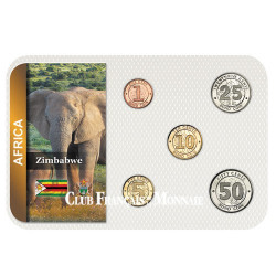 """Série """"Bond coins"""" Zimbabwe 2014"""