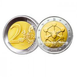 2006 - Belgique - 2 Euros commémorative Atomium de Bruxelles