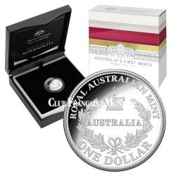 1 Dollar Argent Australie BE 2016 - Hommage au 1er Souverain de Sydney