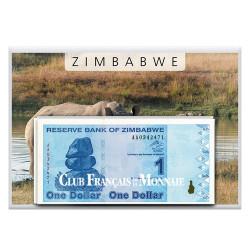 Lot de 7 billets Zimbabwe 2009 - Derniers billets du Zimbabwe
