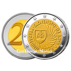 2 Euro Slovaquie 2016 - Présidence de l'Union Européenn
