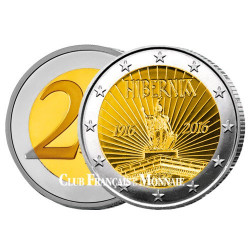 2 Euro Irlande 2016 - 100 ans de la proclamation de la République d'Irlande