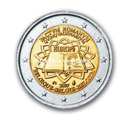 2007 - Belgique - 2 Euros commémorative 50 ans du Traité de Rome