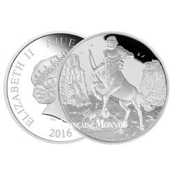 2 Dollars Argent BE 2016 - Mythologie grecque - Centaure