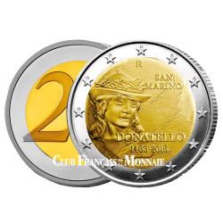2 Euro Saint-Marin BU 2016 - 550ème anniversaire de la mort de Donatello
