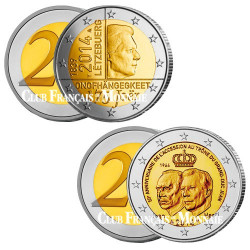 Lot des 2 x 2 Euro Luxembourg 2014