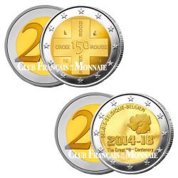 Lot des 2 x 2 Euro Belgique 2014