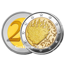 2 Euro Finlande 2016 - Eino Leino